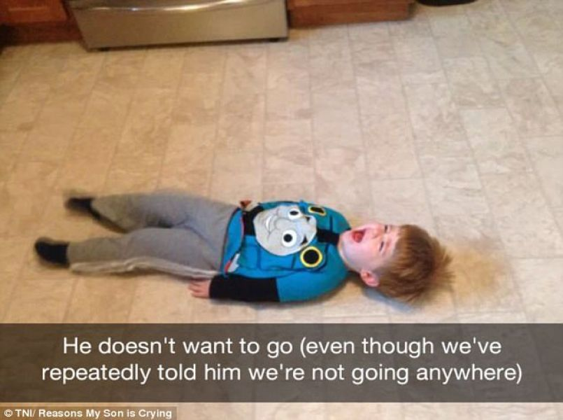 Parents share hilarious reasons for their child