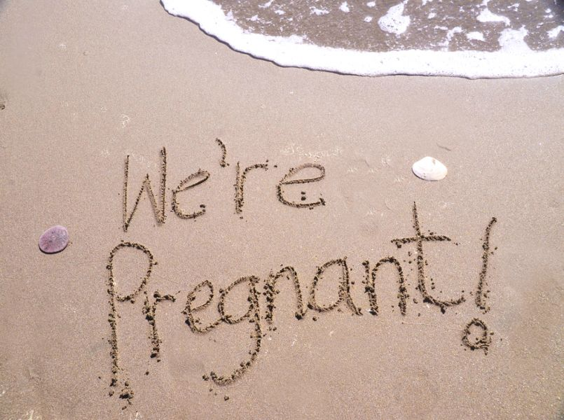 The best pregnancy announcements!