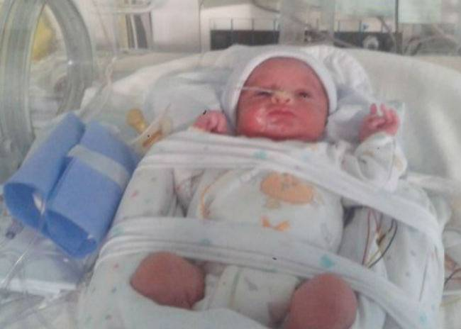 Unbelievable: baby survives 107 days in the belly of a brain dead mother